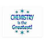 La química es la más grande postal