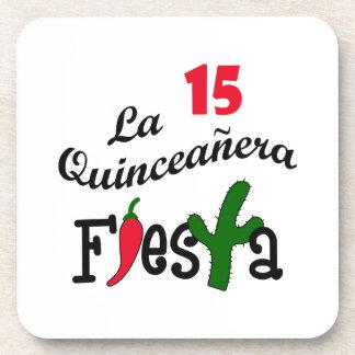 LA QUINCEANERA 2 DRINK COASTERS