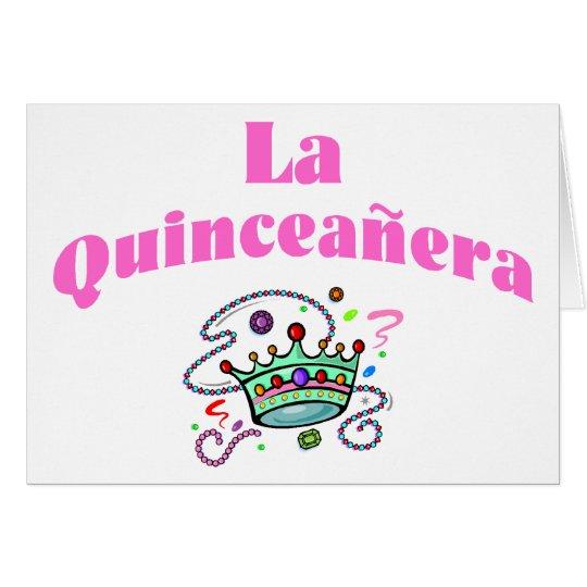 La Quinceanera Card