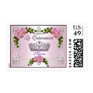 La Quinceanera personalized stamp