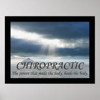La quiropráctica cura los refranes de las citas posters
