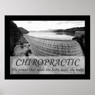 La quiropráctica cura los refranes de las citas póster