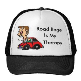 La rabia del camino, es mi, terapia gorros bordados