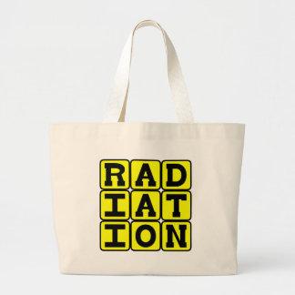 La radiación, permanece lejos bolsas