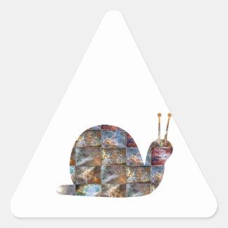 La radio del uso de los caracoles, ve esas antenas pegatina triangular