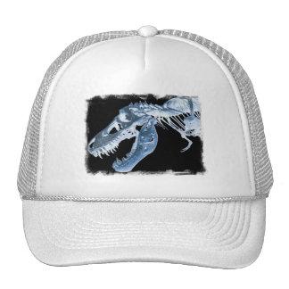 La radiografía azul y negra de T-Rex deshuesa la f Gorras