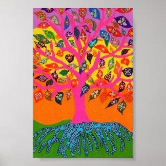 La raíz del árbol del conocimiento del poster de l