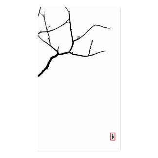 La rama por las pimientas de Leslie Tarjetas De Visita