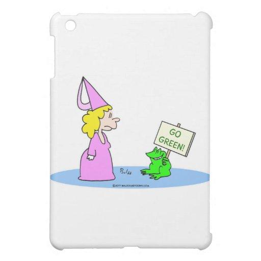 """¡La rana a la princesa """"va verde! """""""