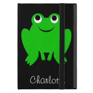 La rana apenas añade nombre iPad mini funda