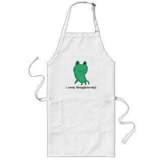 ¡La rana de Cassie que cocino frogaliciously! Delantal