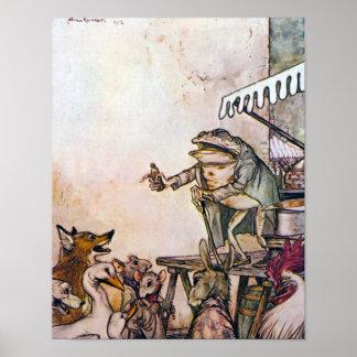 La rana del curandero póster