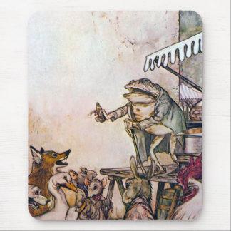 La rana del curandero tapetes de raton
