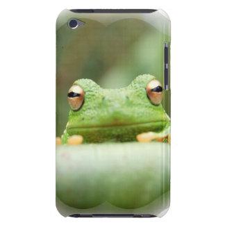 La rana observa el caso de iTouch iPod Touch Carcasa
