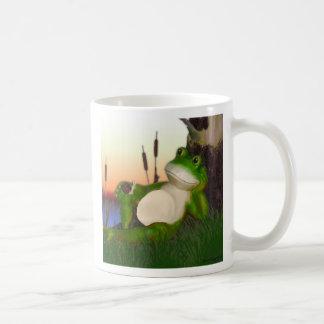 La rana y el caracol taza