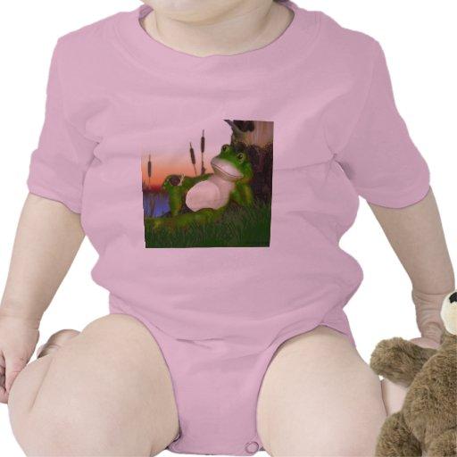 La rana y el caracol trajes de bebé