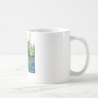 La rana y el escorpión tazas de café