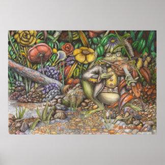 La rana y el violín - poster