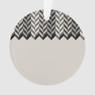 La raspa de arenque confinada gris raya el modelo