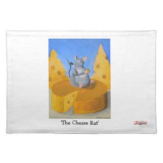 La rata del queso - esteras de lugar manteles individuales