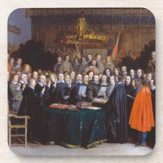 La ratificación del tratado de Münster 1648 Posavasos