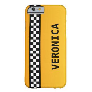 """La raya amarilla del taxi """"añade su conocido """" funda de iPhone 6 barely there"""