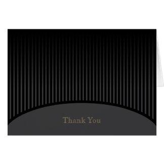 La raya negra le agradece cardar tarjeta