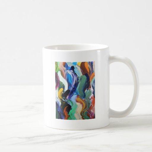 La raza de la anguila taza
