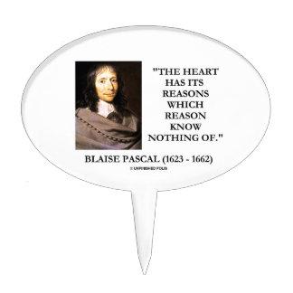 La razón de las razones del corazón de Blaise Palillos De Tarta