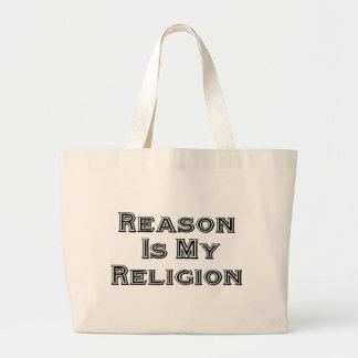 La razón es mi religión bolsa