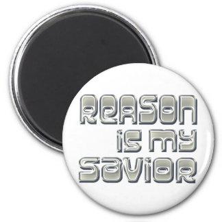 La razón es mi salvador imanes