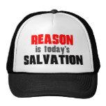 La razón es salvación de hoy gorras