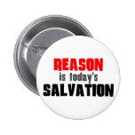 La razón es salvación de hoy pins