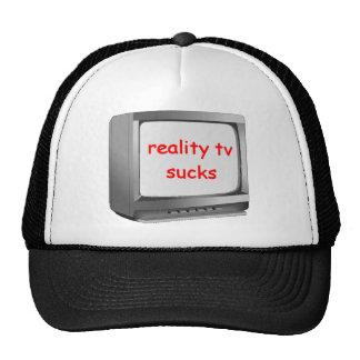 la realidad TV chupa Gorros