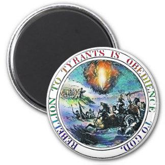 La rebelión a los tiranos sugirió los imanes del imán redondo 5 cm
