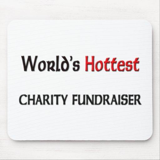 La recaudador de fondos más caliente de la caridad tapete de ratón