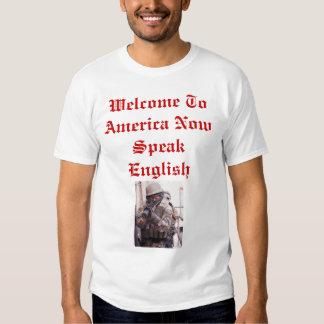 La recepción a América ahora habla inglés Playeras