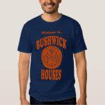 La recepción a Bushwick contiene la camiseta Poleras