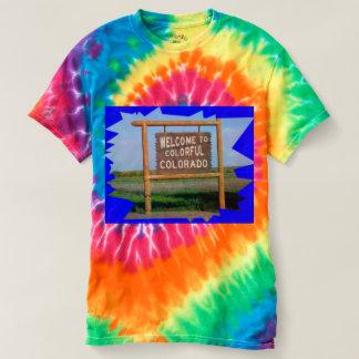 La recepción al lazo colorido de Colorado murió Camisas