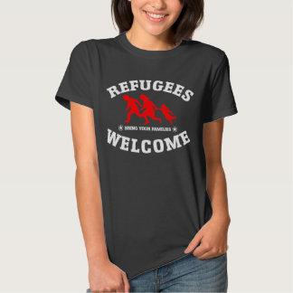 La recepción de los refugiados trae a su familia playera
