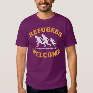 La recepción de los refugiados trae a sus familias playera