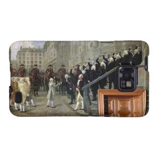 La recepción de Louis XVI en el hotel de Ville b Galaxy S2 Carcasas