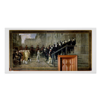 La recepción de Louis XVI en el hotel de Ville b Impresiones