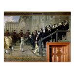 La recepción de Louis XVI en el hotel de Ville b Postal