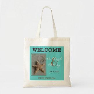 La recepción del boda de playa empaqueta estrellas bolsa tela barata