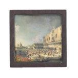 La recepción del embajador francés en Venecia, Caja De Recuerdo De Calidad