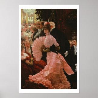 La recepción o, L'Ambitieuse (mujer política) c Impresiones