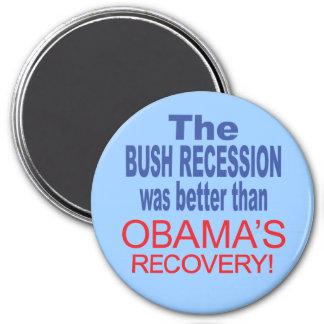 La recesión de Bush era mejor que Obama se recuper Iman