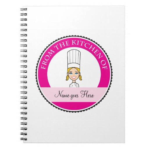 La receta #1 personalizado cuaderno del chica