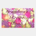 La receta o el este libro de la abuela pertenece a